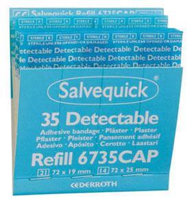 Salvequick  Nachfüllung Detectable