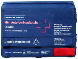 Mini 3 in 1 KFZ Verbandtasche