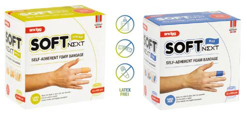 Snögg Soft Next 6cm x 4,5m