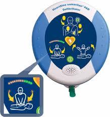 AED Samaritan Defibrillator PAD 500P inkl.Tasche und Zubehör