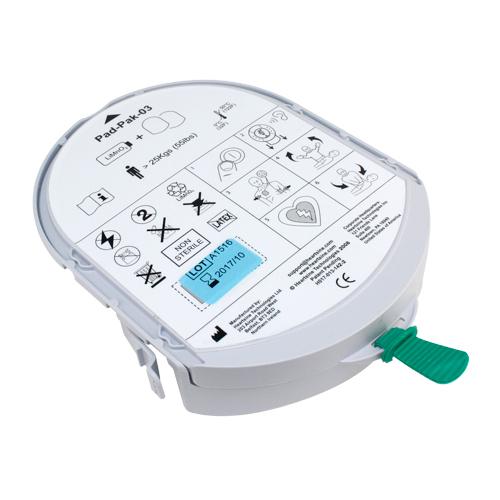 AED Samaritan Batterie für Erwachsene u. Kinder