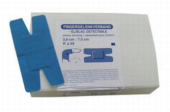 Fingergelenk (50 Stück) detectable u. elastisch
