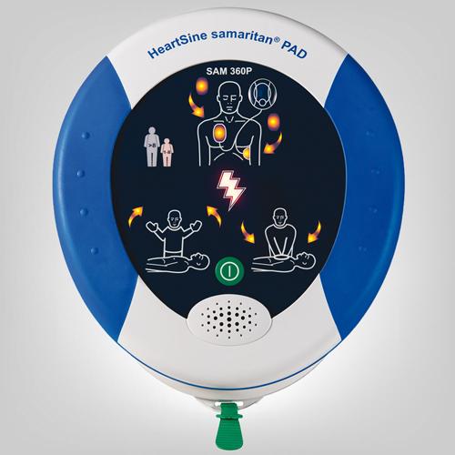 AED Samaritan Defibrillator PAD 360P inkl.Tasche und Zubehör