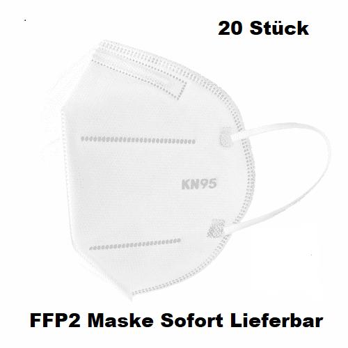 20 Stk. FFP 2 Maske
