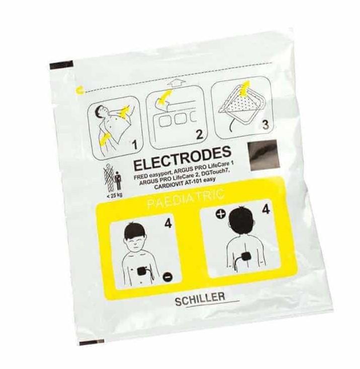 Elektroden Fred Easy Defibrillator Kinder