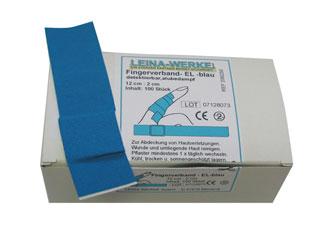 Fingerverband (100 Stück) 12 x 2 cm detectable u. elastisch