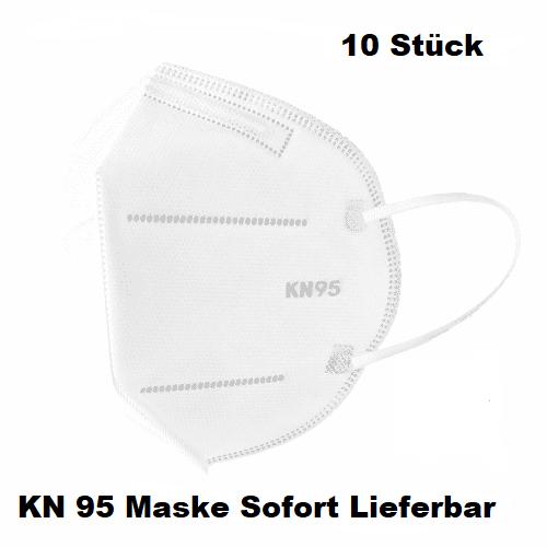 10 Stk. KN 95 Maske