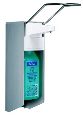 Handdesinfektionsmittelspender mit 500 ml Flasche